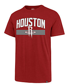 '47 Brand Men's Houston Rockets Super Rival Team Stripe T-Shirt