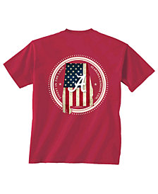 New World Graphics Men's Alabama Crimson Tide Flag Fill T-Shirt