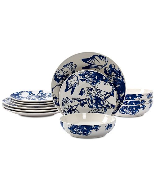 Tabletops Unlimited CLOSEOUT! Vale 12-Pc. Dinnerware Set