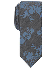 Original Penguin Men's Laury Floral Skinny Tie