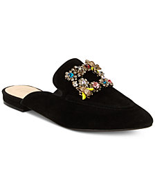 Nanette by Nanette Lepore Gillian Embellished Mules, Created for Macy's