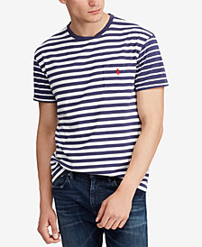 Polo Ralph Lauren Men's Classic Fit Stripe T-Shirt