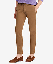 Polo Ralph Lauren Men's Slim Fit Cotton Chino Pants