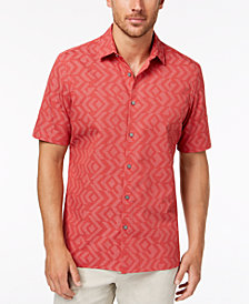 Alfani Men's Jacquard Shirt