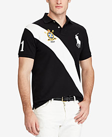Polo Ralph Lauren Men's Custom Slim Fit Mesh Big Pony Polo
