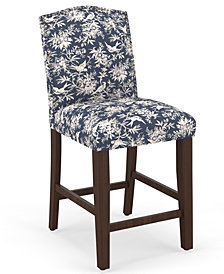 Martha Stewart Collection™ Bedford Collection Callon Counter Stool, Quick Ship, Created For Macy's