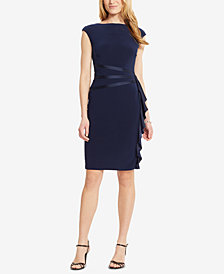 American Living Satin-Trim Sheath Dress