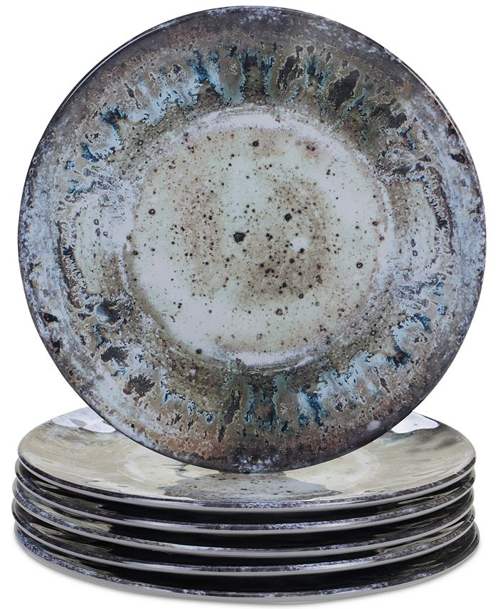 Certified International - Radiance Cream Salad Plates, Set of 6