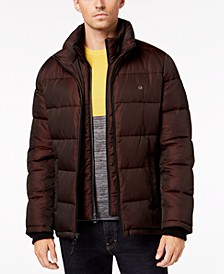 Men's Big & Tall Full-Zip Puffer Coat, Created for Macy's