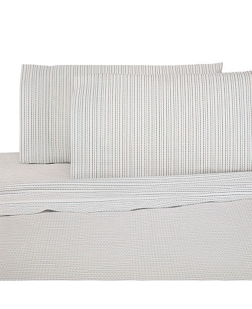 Under the Canopy Printed Brushed Cotton 3-Pc. Twin Sheet Set