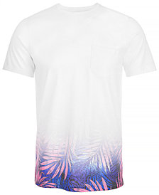 A.I Men's Dip Dyed Leaf T-Shirt