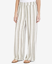 NY Collection Striped Palazzo Pants