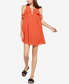 BCBGeneration Mixed-Media A-Line Dress