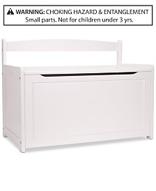 Wooden Toy Chest - White