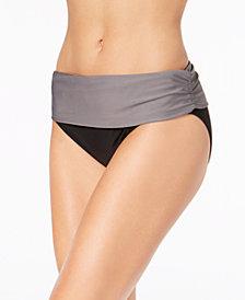 Calvin Klein Foldover Bikini Bottoms