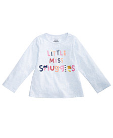First Impressions Baby Girls Graphic-Print Cotton T-Shirt, Created for Macy's