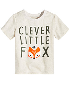 First Impressions Toddler Boys Graphic-Print T-Shirt, Created for Macy's