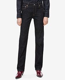 Calvin Klein Jeans Mid Rise Straight Leg Jeans, CKJ 031
