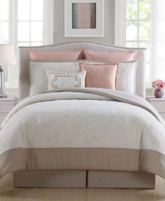 Ellison First Asia Pembrooke 7-Pc. Queen Comforter Set