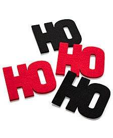 The Cellar 'Ho' Coasters, Set of 4, Created for Macy's