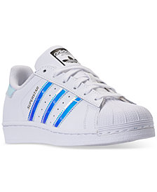 adidas Girls' Superstar Casual Sneakers from Finish Line