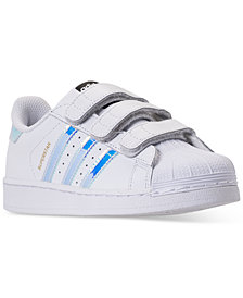 adidas Little Girls' Superstar Casual Sneakers from Finish Line