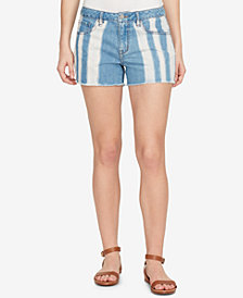 WILLIAM RAST Perfect Ripped Cotton Denim Shorts