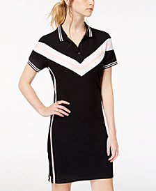 Almost Famous Juniors' Varsity Polo Dress