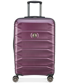 "Delsey Meteor 24"" Hardside Expandable Spinner Suitcase"