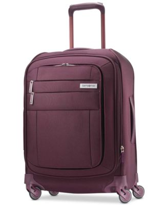 """Agilis 21"""" Softside Carry-On Spinner Suitcase, Created for Macy's"""