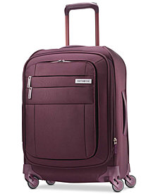 """CLOSEOUT! Samsonite Agilis 21"""" Softside Carry-On Spinner Suitcase, Created for Macy's"""