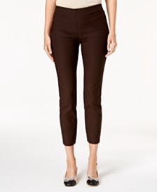 Charter Club Chelsea Tummy Control Skinny-Leg Ankle Pants, Created for Macy's