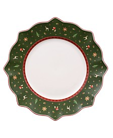 Toy's Delight Green Dinner Plate