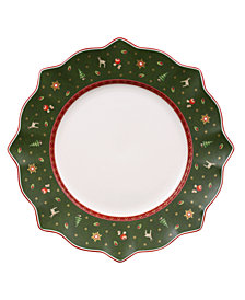 Villeroy & Boch Toy's Delight Green Dinner Plate