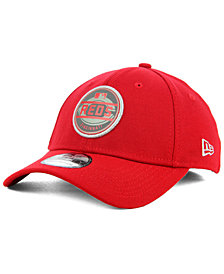 New Era Cincinnati Reds Circle Reflect 39THIRTY Stretch Fitted Cap