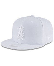 Los Angeles Angels White Out 59FIFTY FITTED Cap