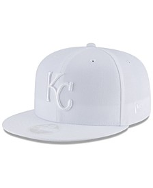 Kansas City Royals White Out 59FIFTY FITTED Cap