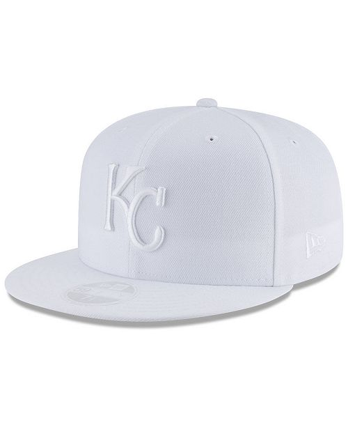 sports shoes 7de8c 67890 ... ebay new era kansas city royals white out 59fifty fitted cap sports fan  fd28f fc10a