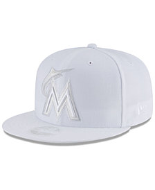 New Era Miami Marlins White Out 59FIFTY FITTED Cap
