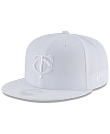 Minnesota Twins White Out 59FIFTY FITTED Cap