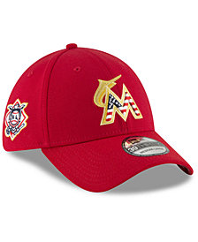New Era Miami Marlins Stars and Stripes 39THIRTY Cap