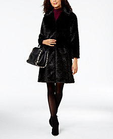 kate spade new york Faux-Fur Coat