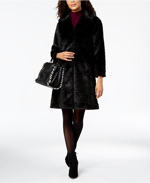 8b107b75837b kate spade new york Faux-Fur Coat   Reviews - Coats - Women - Macy s