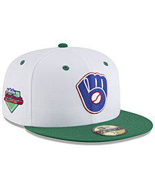New Era Milwaukee Brewers Retro Diamond 59FIFTY FITTED Cap