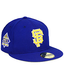 New Era San Francisco Giants Anniversary Pack 59FIFTY Fitted Cap 2018