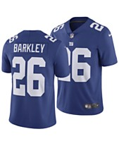 244cb979 Nike Men's Saquon Barkley New York Giants Vapor Untouchable Limited Jersey