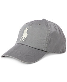 Polo Ralph Lauren Men's Big Pony Chino Cotton Baseball Cap