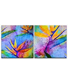 Ready2HangArt 'Tropical Birds of Paradise' 2-Pc. Canvas Art Print Set