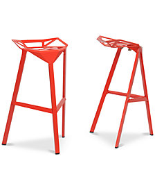 Eelis Bar Stool (Set of 2), Quick Ship