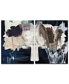 'Inkd XXI' 2-Pc. Canvas Art Print Set